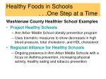 healthy foods in schools one step at a time