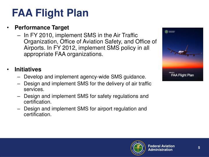 FAA Flight Plan