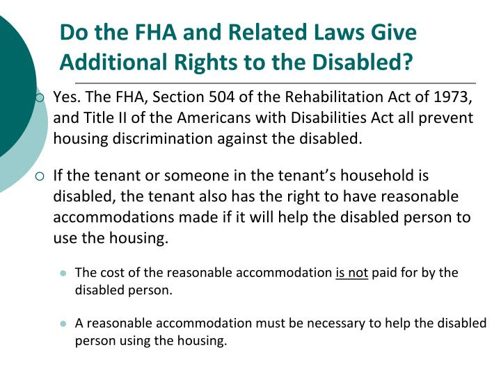 combating discrimination against persons with disabilities Passed by congress in 1990, the americans with disabilities act (ada) is the nation's first comprehensive civil rights law addressing the needs of people with disabilities, prohibiting discrimination in employment, public services, public accommodations, and telecommunications eeoc was given enforcement authority for title i of the act, the employment discrimination.