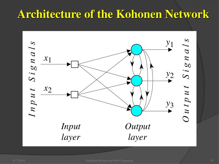 Architecture of the Kohonen Network