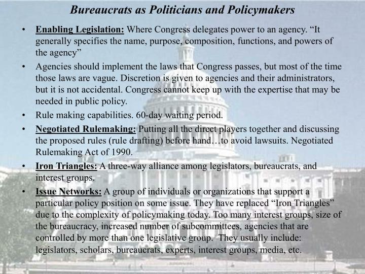 Enabling Legislation: