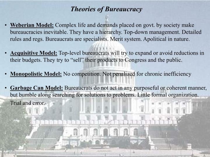 Theories of Bureaucracy