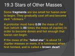 19 3 stars of other masses2