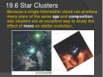 19 6 star clusters