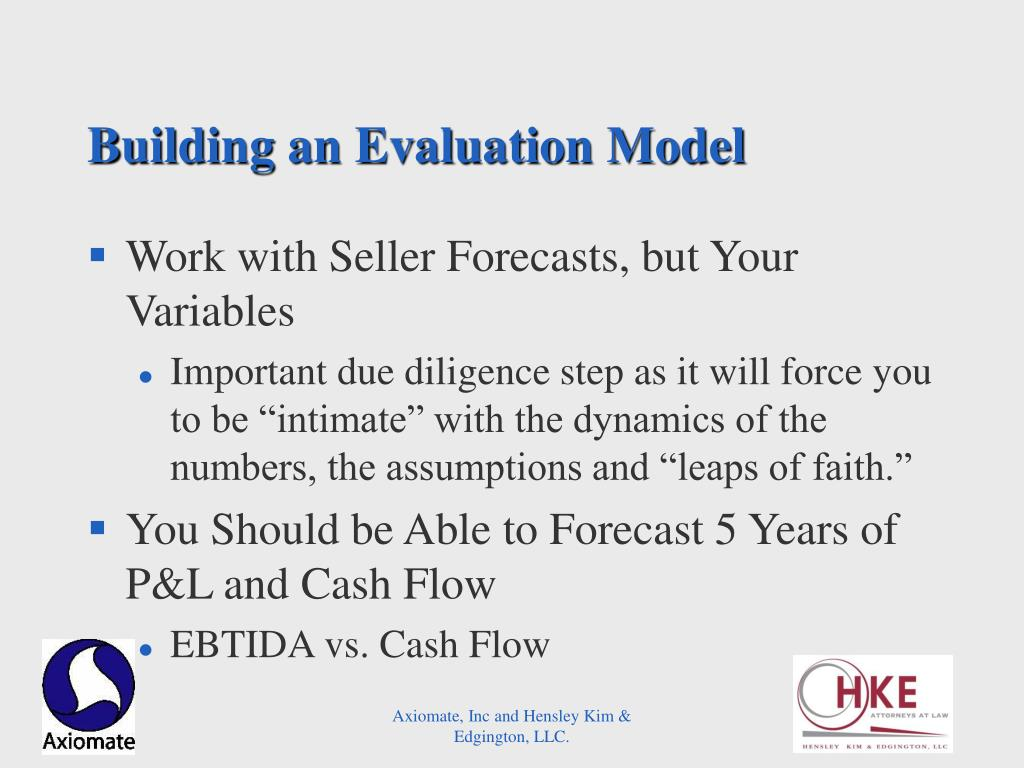 Building an Evaluation Model