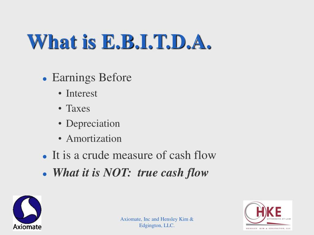What is E.B.I.T.D.A.