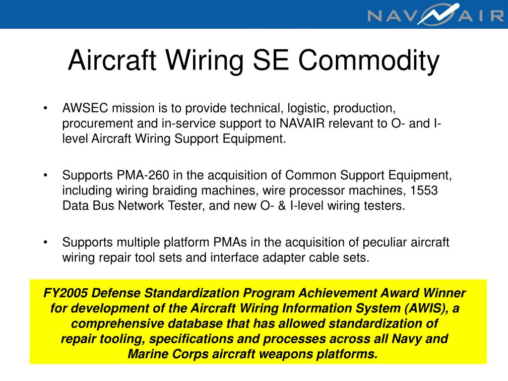 Aircraft Wiring SE Commodity