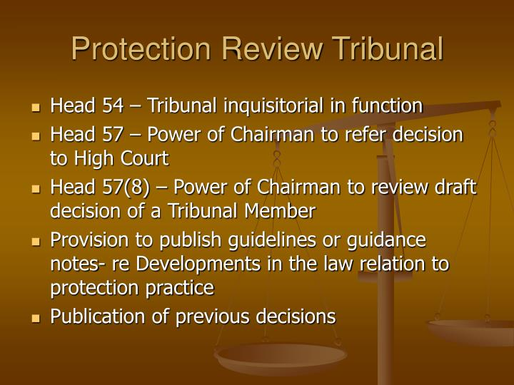 Protection Review Tribunal