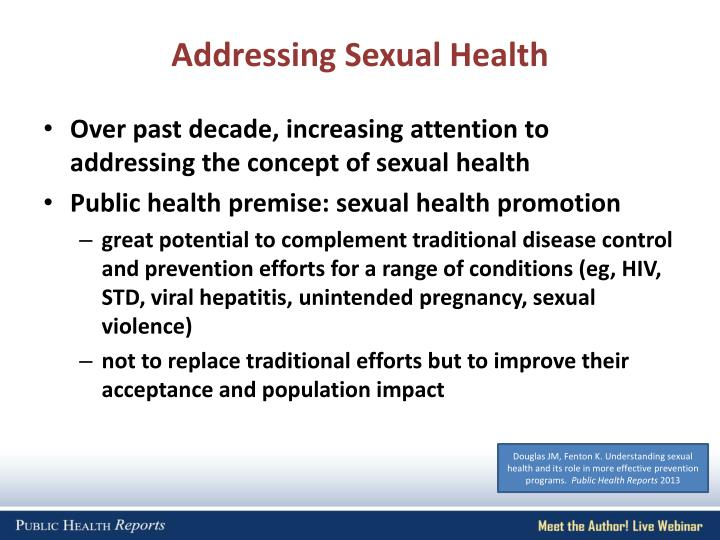 Addressing Sexual Health