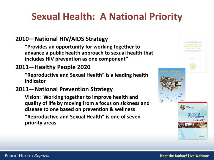 Sexual Health:  A National Priority