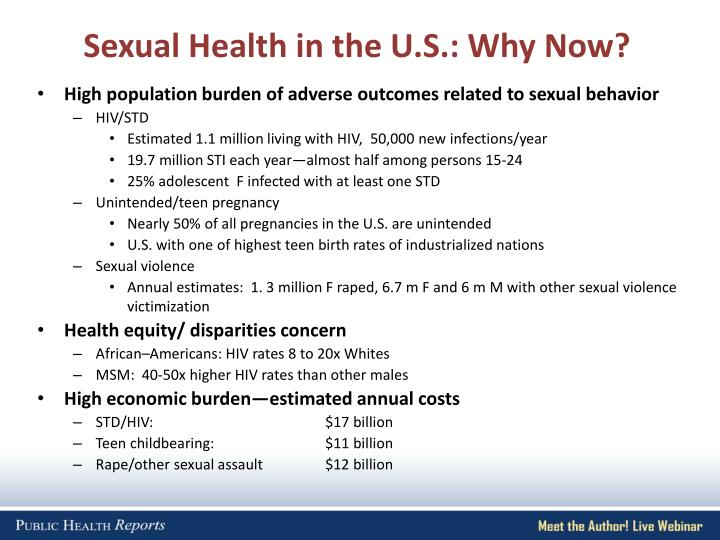 Sexual Health in the U.S.: Why Now?