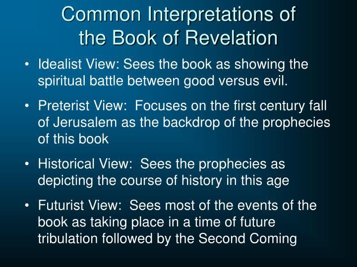 Common Interpretations of