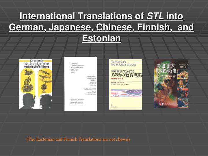 International Translations of