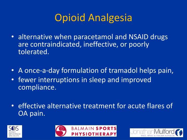 Opioid Analgesia