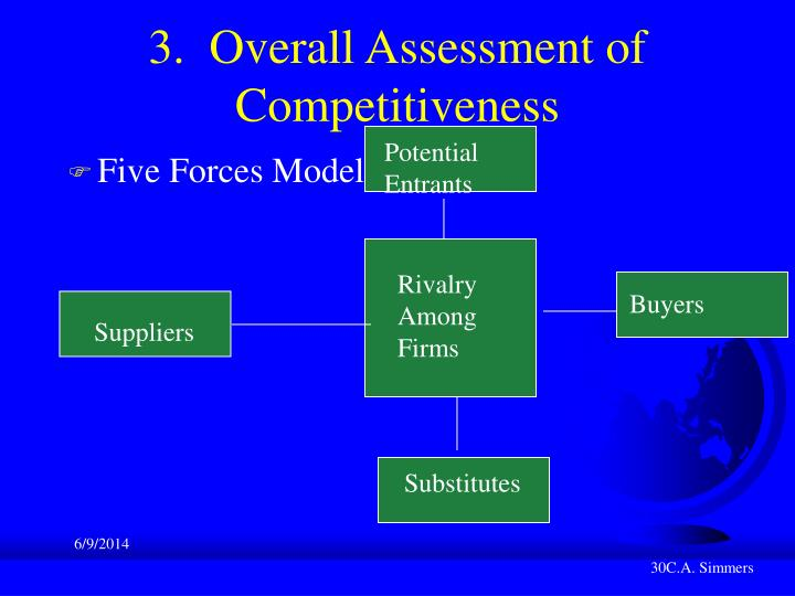 3.  Overall Assessment of