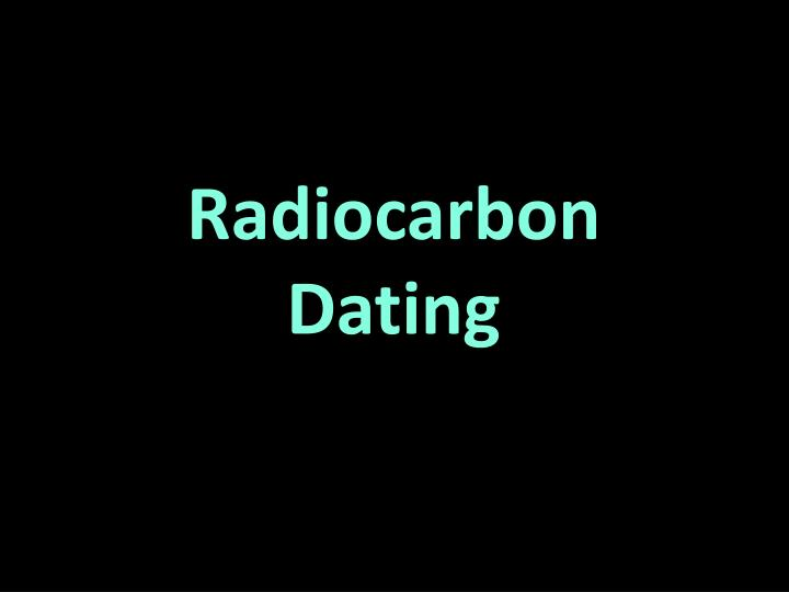 radiocarbon dating myths