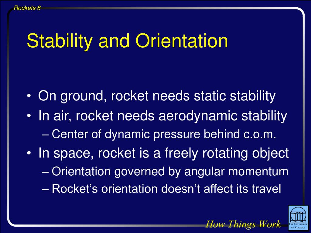 Stability and Orientation