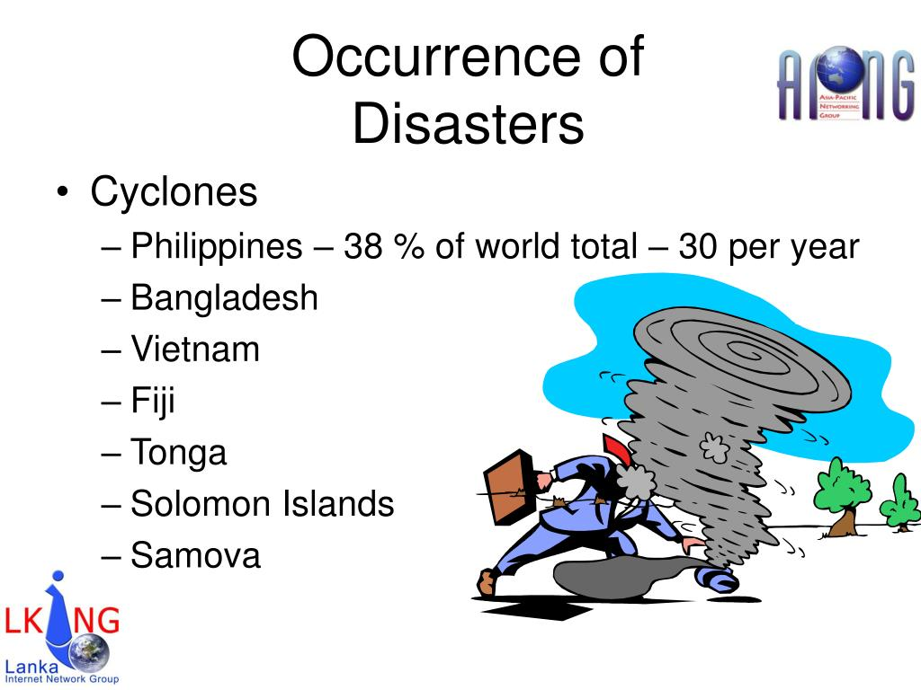 Occurrence of Disasters