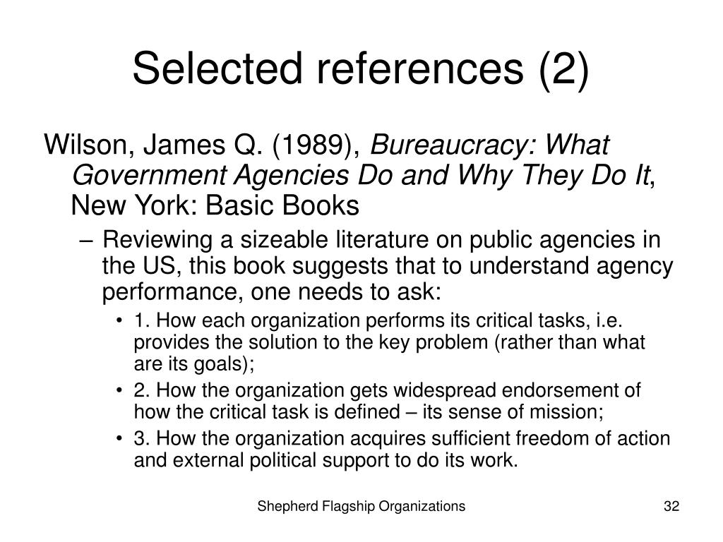 Selected references (2)