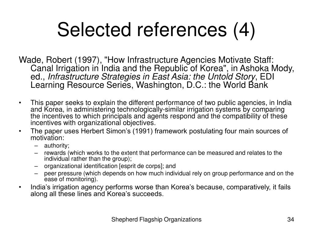 Selected references (4)