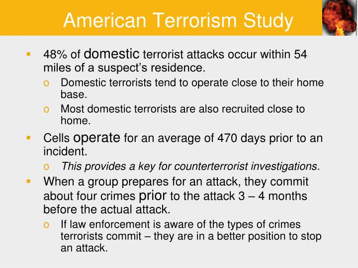 an analysis of the meaning of terrorist acts and the types of terrorism Different types of terrorism have been defined by lawmakers, security professionals and scholars types differ according to what kind of attack agents an.
