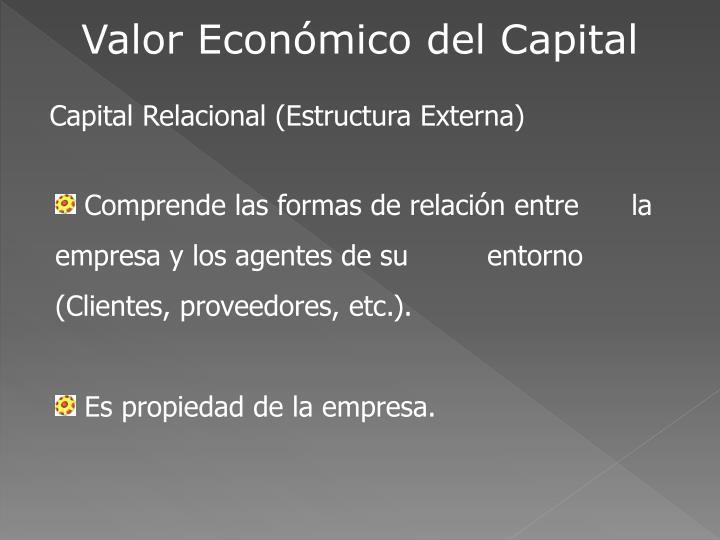 Valor Económico del Capital