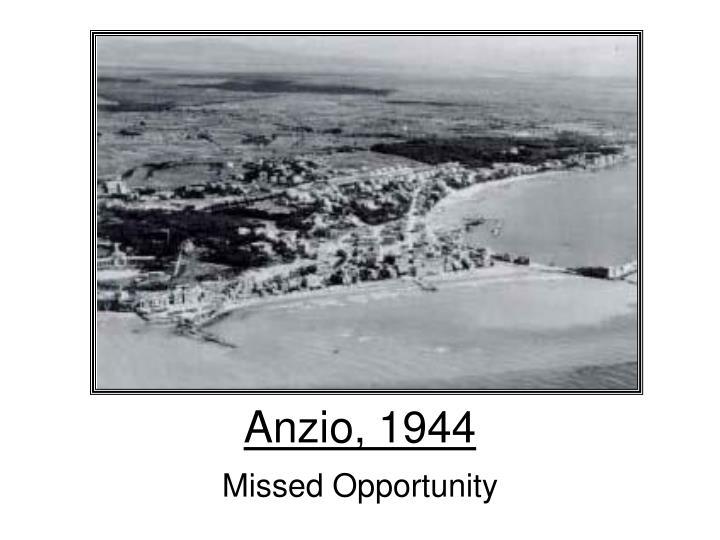 Anzio, 1944