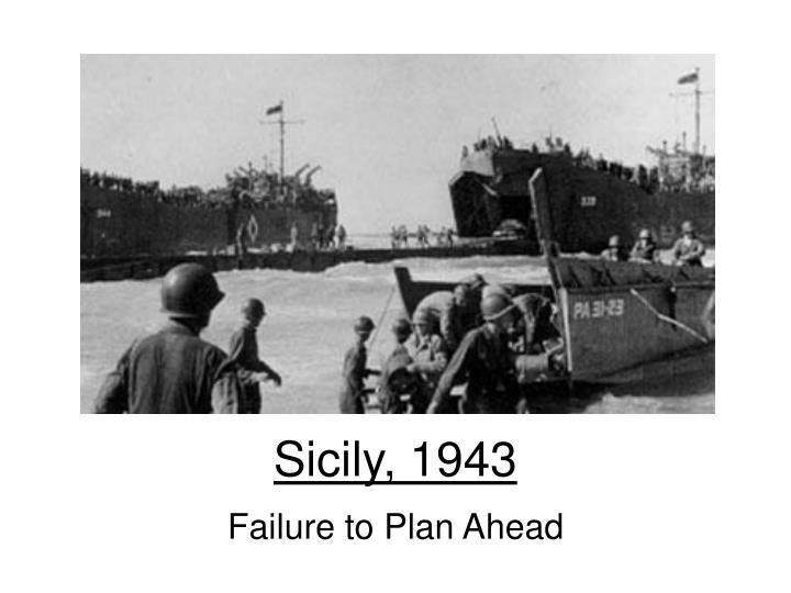 Sicily, 1943