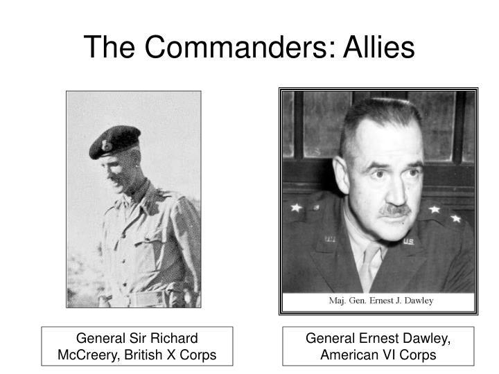 The Commanders: Allies