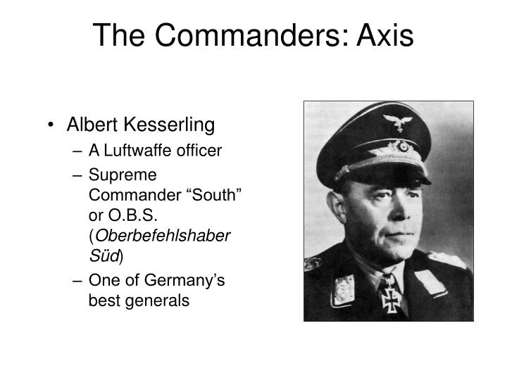 The Commanders: Axis