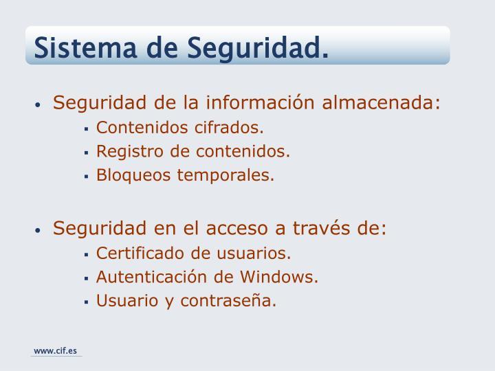 Sistema de Seguridad.
