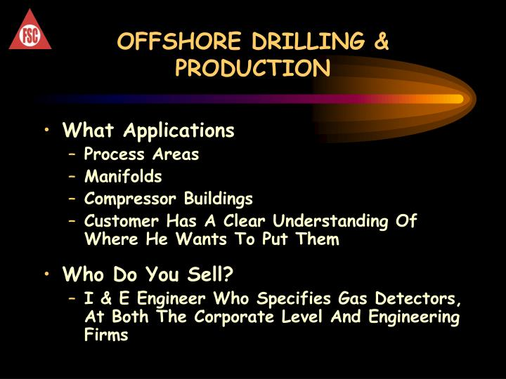 OFFSHORE DRILLING & PRODUCTION
