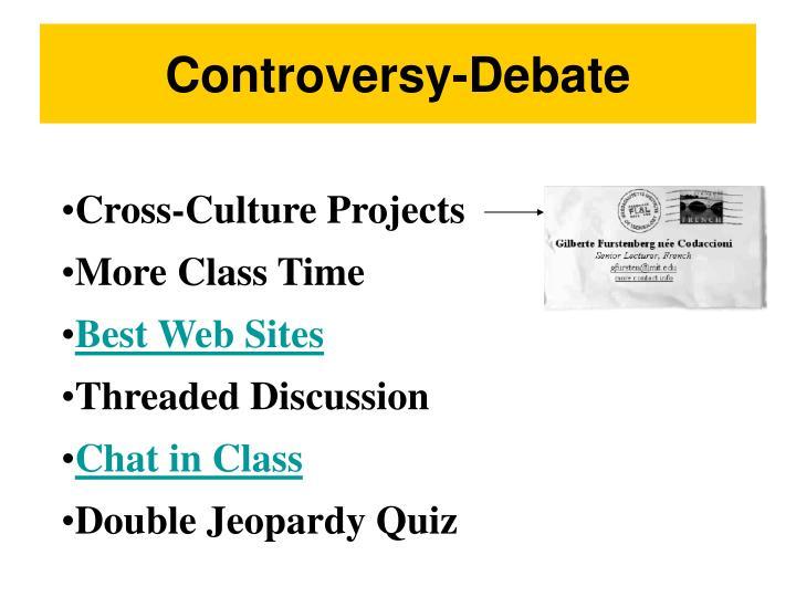 Controversy-Debate