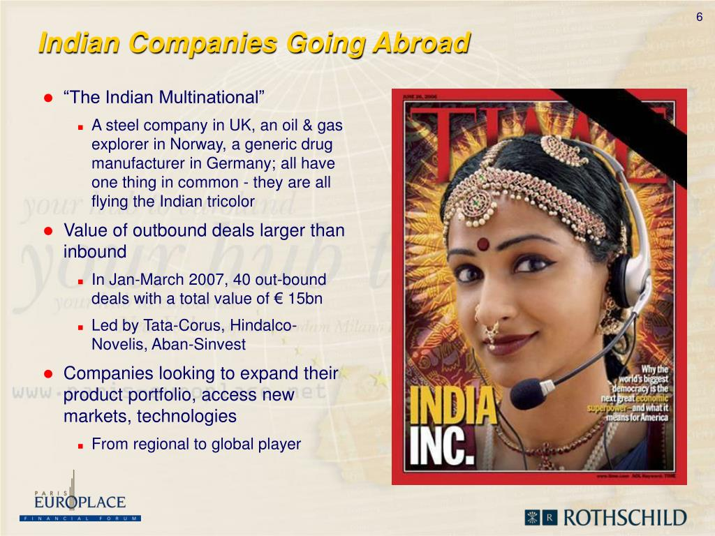 Indian Companies Going Abroad