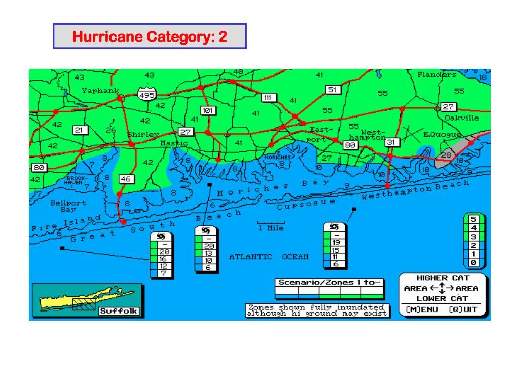 Hurricane Category: 2