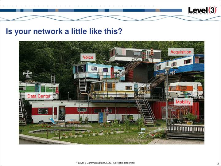 Is your network a little like this