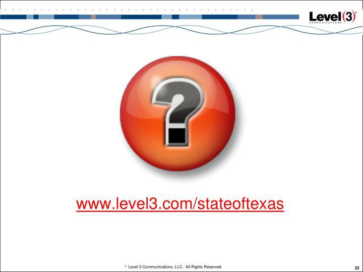 www.level3.com/stateoftexas
