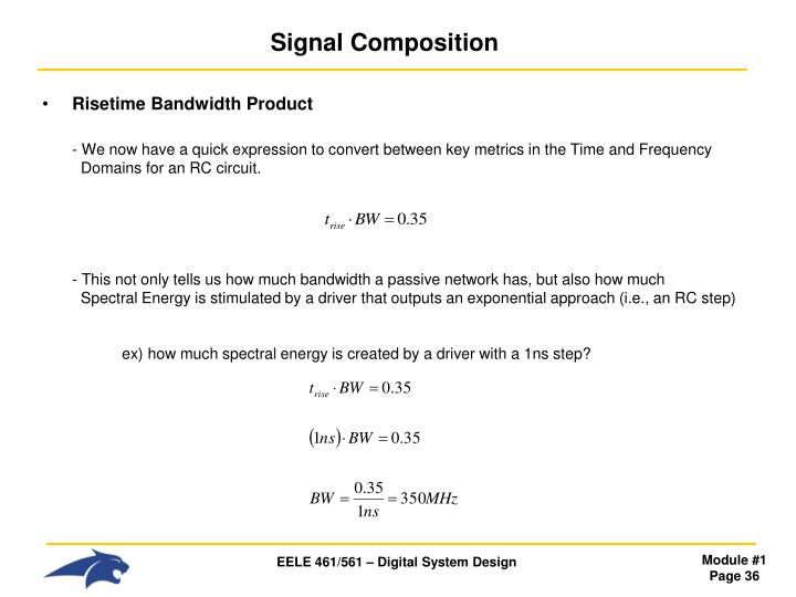 Signal Composition