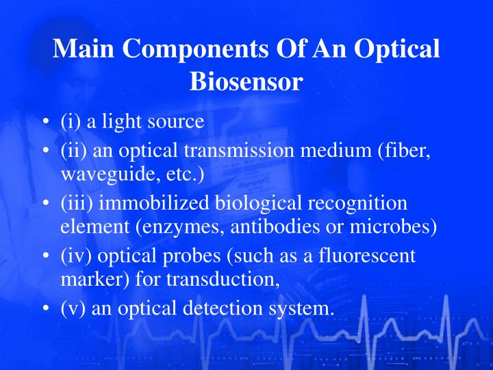 Main Components Of An Optical Biosensor
