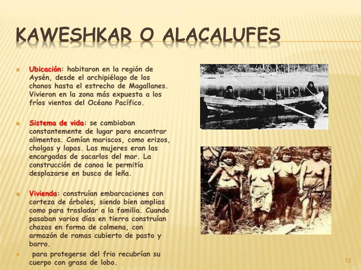 Kaweshkar o alacalufes