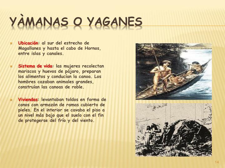 Yàmanas o yaganes