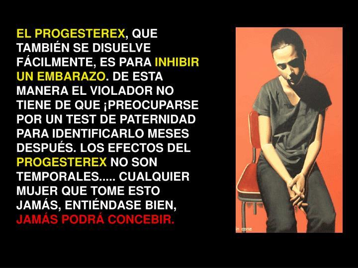 EL PROGESTEREX