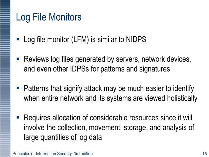 Log File Monitors