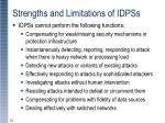 strengths and limitations of idpss2