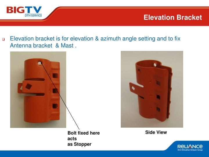 Elevation Bracket