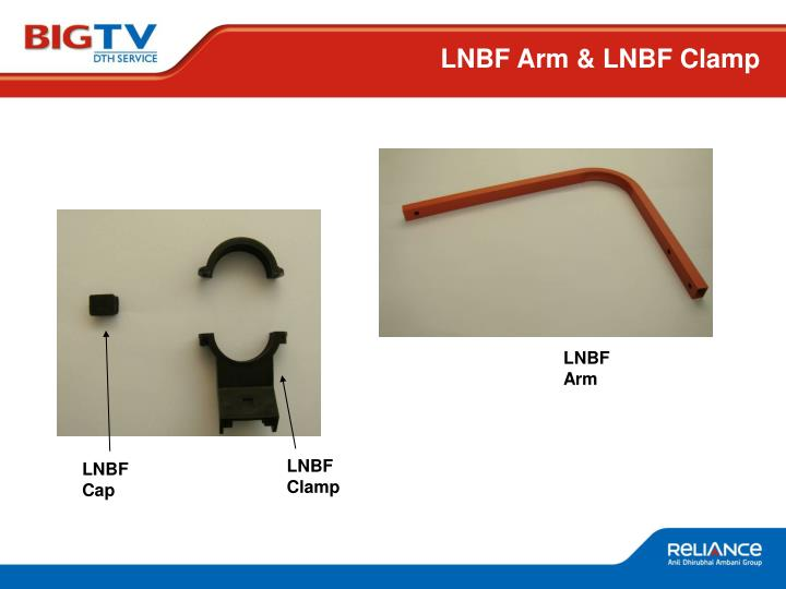LNBF Arm & LNBF Clamp