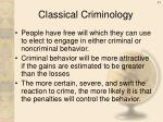 classical criminology1