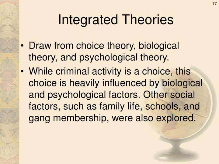 Integrated Theories