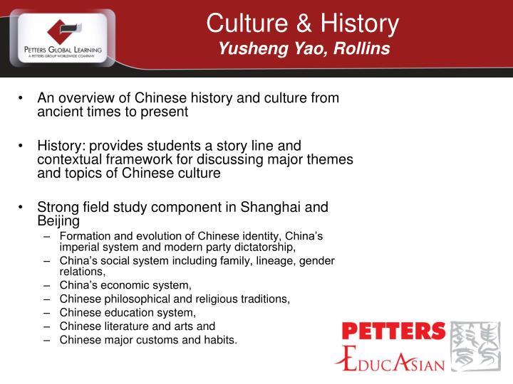 Culture & History