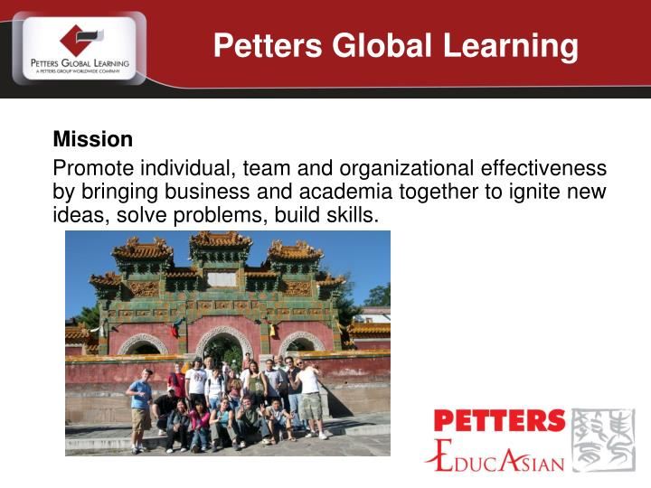 Petters Global Learning